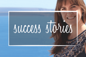 "image of client that says ""success stories"""