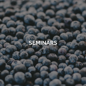 Seminars- image of blueberries
